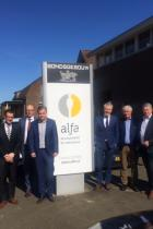 Collegebezoek Alfa Accountants en Adviseurs Langenboom
